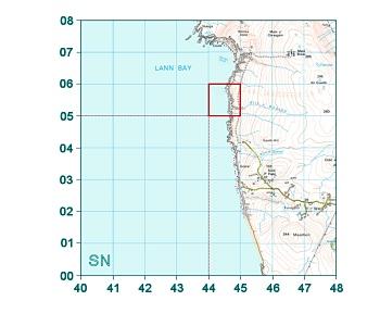 lookup eastingsnorthings grid square